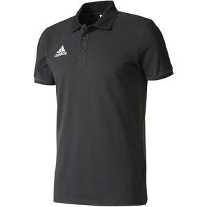 adidas Poloshirt Tiro 17 schwarz/weiß
