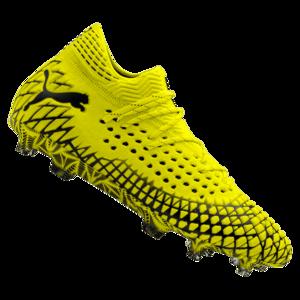 Puma Fußballschuh Future 4.1 Netfit Mx SG gelb fluo/schwarz