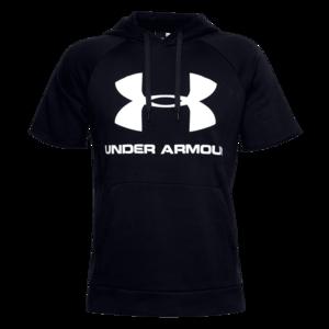 Under Armour Kapuzenshirt Sportstyle Logo Hoody schwarz/weiß