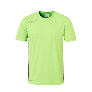 Uhlsport Trikot Essential Kurzarm grün fluo/schwarz
