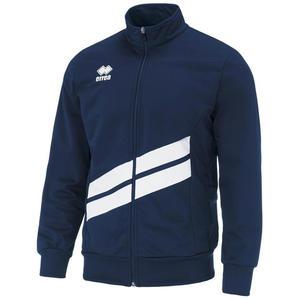 Errea Trainingsjacke Jim dunkelblau/weiß