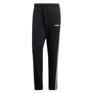 adidas Jogginghose Essentials 3S Open Hem Tapered Pant schwarz/weiß