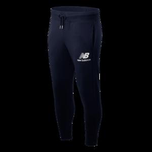 New Balance Jogginghose Essentials Stacked Logo Sweat Pants dunkelblau/weiß