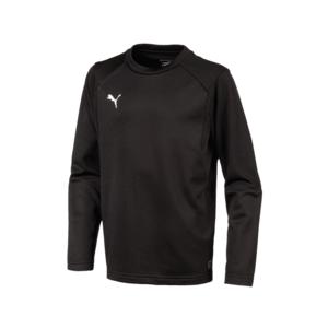 Puma Kinder Trainingspullover Liga Training Sweat schwarz/weiß