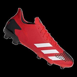 adidas Fußballschuh Predator 20.2 FG rot/schwarz