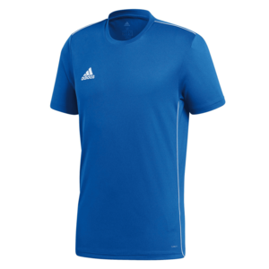 adidas Shirt Core 18 Training Jersey blau/weiß