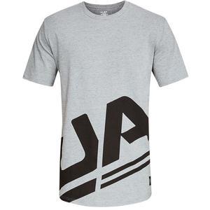 Under Armour Freizeitshirt Sportstyle Branded grau/schwarz