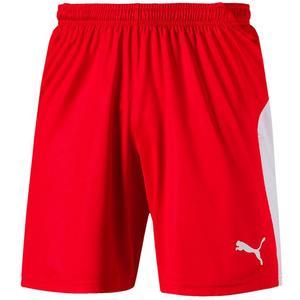 Puma Short Liga rot/weiß