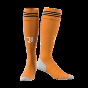adidas Juventus Turin Herren 3rd Stutzen 2020/21 orange/hellgrau