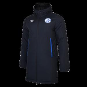 Umbro FC Schalke 04 Kapuzenjacke Padded Jacket dunkelblau/blau