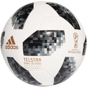 adidas Fußball Telstar WM 2018 OMB Größe 5 weiß/grau