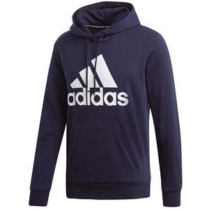 adidas Kapuzenpullover Must Haves Badge of Sport Hoody French Terry dunkelblau/weiß