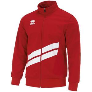 Errea Trainingsjacke Jim rot/weiß