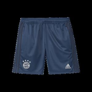 adidas FC Bayern München Kinder Trainingsshort dunkelblau/weiß