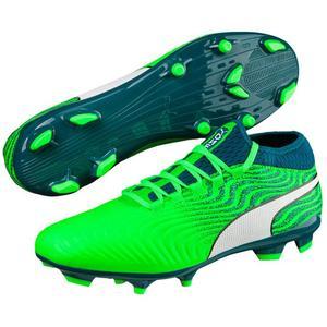 Puma Fußballschuh One 18.3 Syn FG grün fluo/petrol