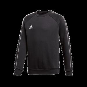 adidas Kinder Trainingspullover Core 18 Sweat Top schwarz/weiß