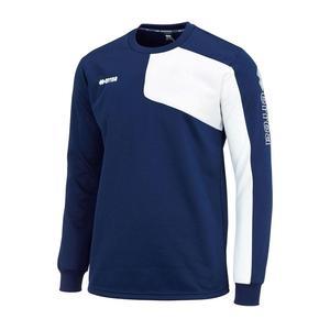 Errea Pullover Mavery blau/weiß