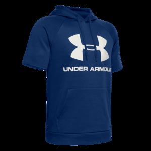 Under Armour Kapuzenshirt Sportstyle Logo Hoody blau/weiß