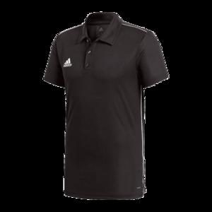 adidas Poloshirt Core 18 schwarz/weiß