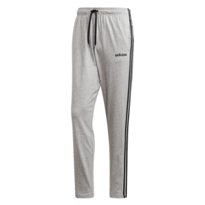 adidas Jogginghose Essentials 3S Single Open Hem Tapered Pant grau/schwarz