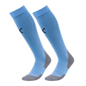 Puma Stutzen Liga Core Socks hellblau/schwarz
