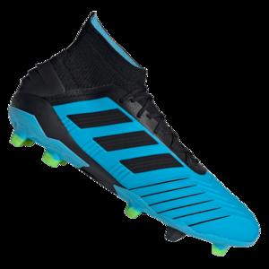 adidas Fußballschuh Predator 19.1 FG hellblau/schwarz