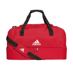 adidas Sporttasche Tiro Duffelbag Bottom Compartment M rot/weiß