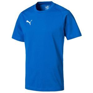 Puma Shirt Liga Casual Tee blau/weiß