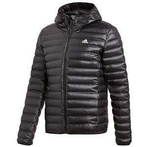 adidas Kapuzenjacke Varilite Hooded Jacket schwarz/weiß