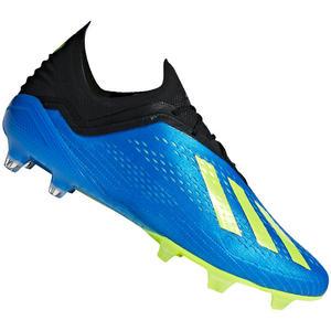 adidas Fußballschuh X 18.1 FG blau/gelb fluo
