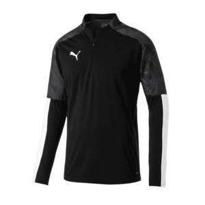 Puma Trainings Top Cup 1/4 Zip Fleece schwarz/grau