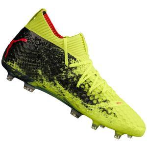 Puma Fußballschuh Future 18.1 Netfit FG/AG gelb fluo/schwarz