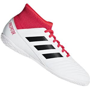 adidas Kinder Hallenschuh Predator Tango 18.3 IN J weiß/rot