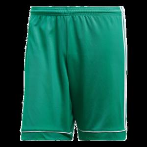 adidas Short Squadra 17 grün/weiß