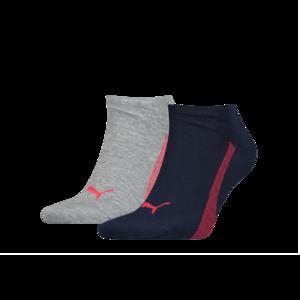 Puma Socken Sneakers Promo 2er Pack blau/rot