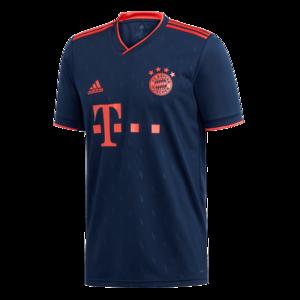 adidas FC Bayern München Herren Champions League Trikot 2019/20 dunkelblau/rot