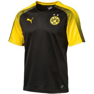 Puma BVB Aufwärmtrikot schwarz/gelb
