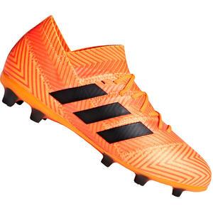 adidas Kinder Fußballschuh Nemeziz 18.1 FG J orange fluo/schwarz