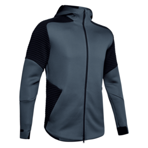 Under Armour Kapuzenjacke Unstoppable Move Hoody FZ dunkelgrau/schwarz