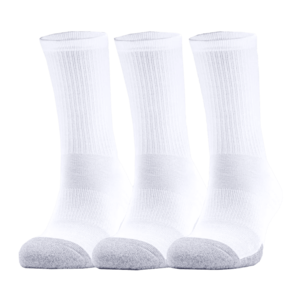 Under Armour Socken Heatgear Crew 3er Pack weiß