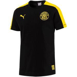Puma BVB Fanshirt T7 Tee schwarz/gelb