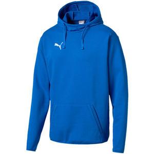 Puma Kapuzenpullover Liga Casuals Hoody blau/weiß