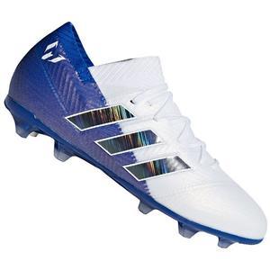adidas Kinder Fußballschuh Nemeziz Messi 18.1 FG J weiß/blau