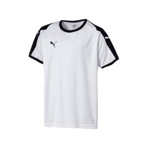 Puma Kinder Trikot Liga Jersey weiß/schwarz