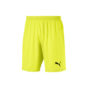 Puma Short Liga Core gelb fluo/schwarz