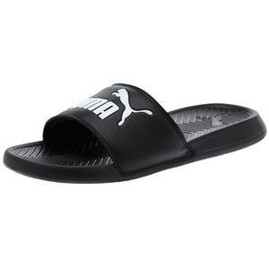Puma Badeschuhe Popcat Slide schwarz/weiß