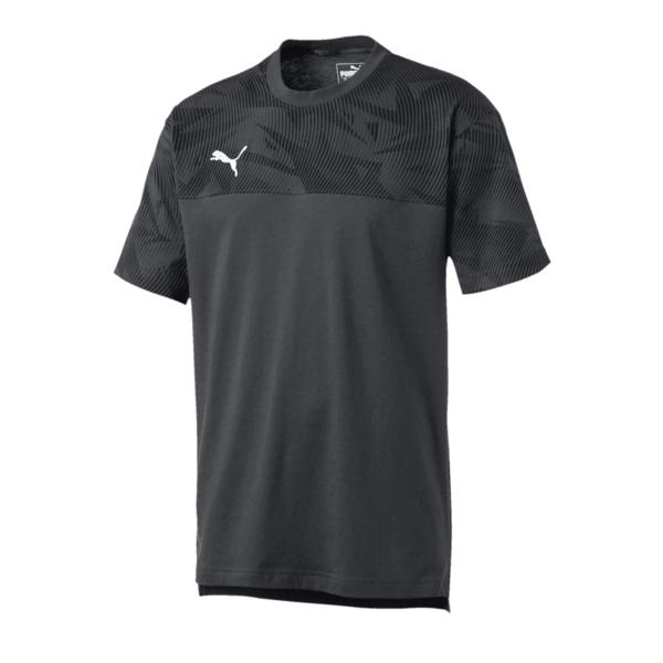 Puma Shirt Cup Casuals Tee anthrazit/weiß