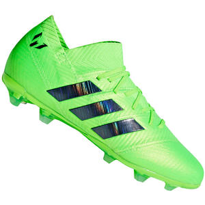 adidas Kinder Fußballschuh Nemeziz Messi 18.1 FG J grün fluo/schwarz