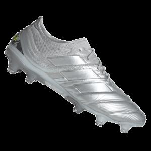 adidas Fußballschuh Copa 20.1 FG silber/gelb fluo