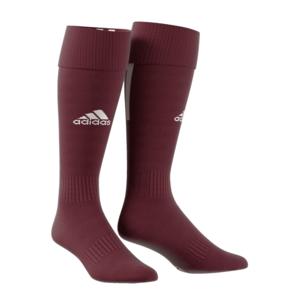 adidas Stutzen Santos 18 Sock dunkelrot/weiß
